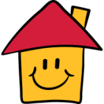Funny-cartoon-smiley-House